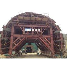 Coffrage en acier de ponceau d'arc de chariot de revêtement de tunnel de route