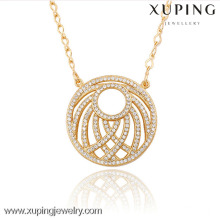 42887 Xuping Trendy Charm Jewelry Gold Plated Pendant As Gifts