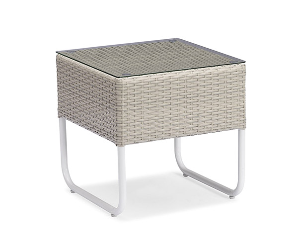 PE wicker patio table furniture