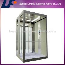 Traktionsglas Aufzug, Panorama-Aufzug, Wohn-Aufzüge