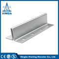 Elevator Hollow Guide Rail For Lift With Fish Plate