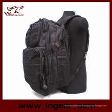 Mode militärische Tasche Patrol Molle Assault Combat Rucksack schwarz