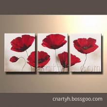 Modern Flower Canvas Wall Art