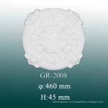 Ideas de moldeo de decoración de techo de espuma de poliuretano