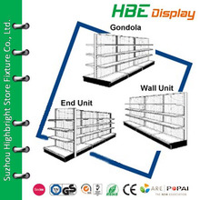 retail and service shelving,supermarket shelving installation,metal gondola supermarket display shelf for sale
