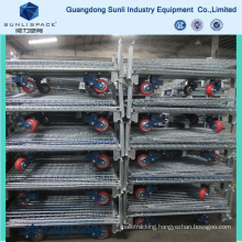 Packaging Wire Mesh Box Container Cage