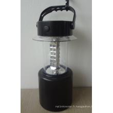 Lumière portative solaire de lampe de lanterne de LED avec la taille réglable