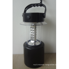 Solar Portable LED Lantern Lamp Light with Height Adjustable