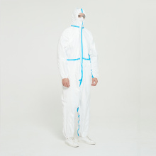 Nonwoven Dispossable Isolation Gown Protective Clothing