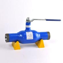Soldadura RB Acero al carbono SW Válvula de bola de flujo