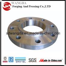 DIN2573/DIN2576, C22.8/S235jr, acero al carbono brida