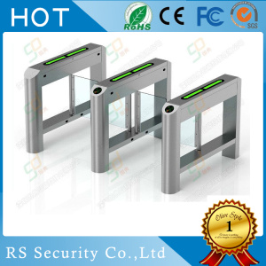 Sistem Keamanan Optical SwingBarrier Glass Turnstile