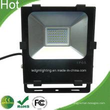 Nuevo Samsung 5630 SMD IP67 nègre 50W réflecteur lumière LED