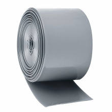 Grey Blank Pattern Shrinkage Fast PVC Heat Shrink Wrap Sleeve For Bar