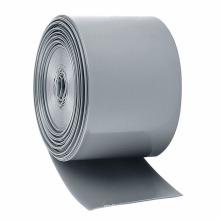 Luva rápida do envoltório do psiquiatra do calor do PVC do encolhimento do teste padrão em branco cinzento para a barra