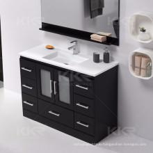 Modern solid surface vanity basin bathroom vanity