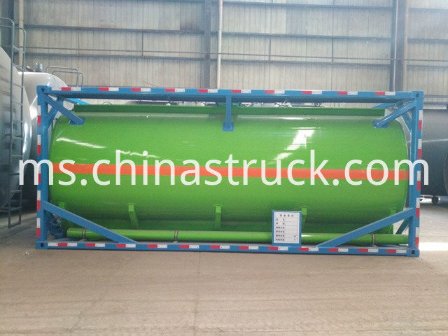 Caustic Soda Tank Container