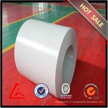 Bobine en acier galvanisée à haute qualité en plastique prépintée en ppgi en stock Fourniture en Chine