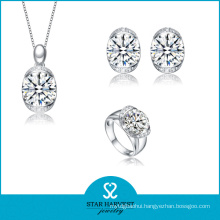 Elegant Moonstone Silver Jewellery Set for Free Sample (J-0108)