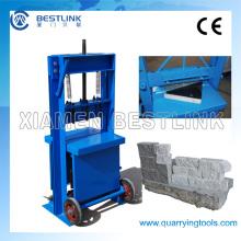 Máquina de división de piedra y losa de bloque de mampostería