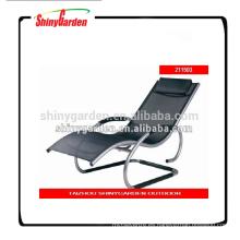 nuevo estilo jardín aluminio redondo tubo ocio texti lene honda silla
