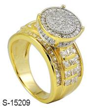 New Design 925 Sterling Silver Fashion Diamond Ring