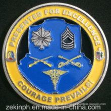 Benutzerdefinierte billige Herausforderung Münze, maßgeschneiderte weiche Emaille Metall Münze