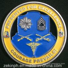 Custom Cheap Challenge Coin, Customized Soft Enamel Metal Coin