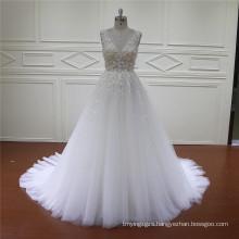 HD002 Wholesale Price Pretty Ruffle Bridal Wedding Dress 2016