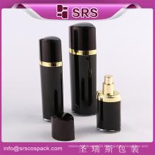 30ml 60ml 120ml Eye Shape Lotion Bottle For Cosmetic Packaging , Black Color Luxury 2 oz Spray BottlesBottle