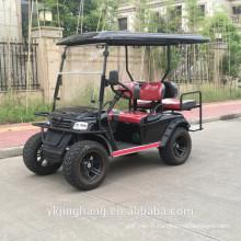 Chariot de golf électrique 4 places / zone de golf électrique
