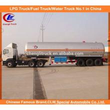 60cbm LPG Trailer de Transporte 59.52cbm Semi-reboque de GPL