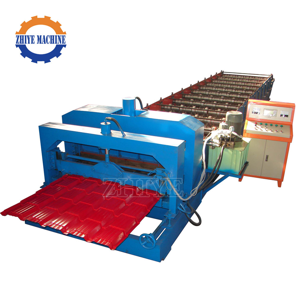CNC Aluminium Glazed Tile Equipment Botou