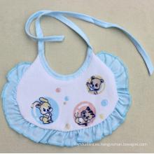 Babero de bebé impermeable de algodón