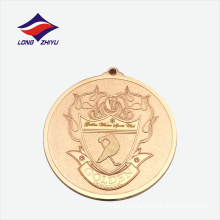 Top quality hockey competition metal medal