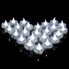 Nonflammable baterai dioperasikan LED tealight lilin