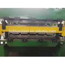 Metall-Blech-Doppelschicht-Walze-Umformmaschine, Stahl-Aluminium-Wellpappe Dach- und Wandfliesen-Walzenformmaschine