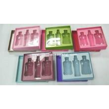 Papier Kosmetik-Display mit Kunststoff-Abdeckung und Blister