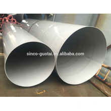 Tubería de acero inoxidable 304 316L de gran diámetro para la industria