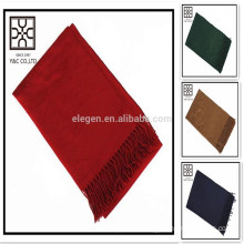 Low MOQ Wholesale Solid color Acrylic Scarf
