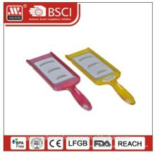 Plastic zester grater with handle