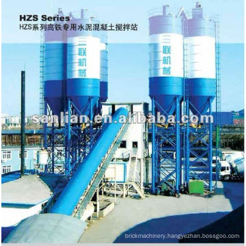 High-speed Railway Cement Mixing plant