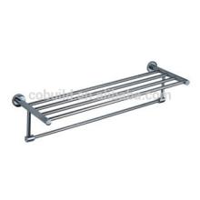 Badezimmer-Zusatz-304 Edelstahl-Doppeltuch-Regal, Doppelhandtuchhalter CX-305