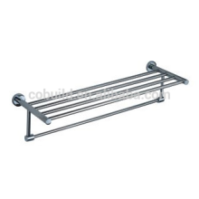 Accesorio para baño 304 Estante para toalla doble de acero inoxidable, Toallero doble CX-305