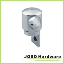 Conexão de hardware de porta de vidro Conector de hardware de latão (AC002)