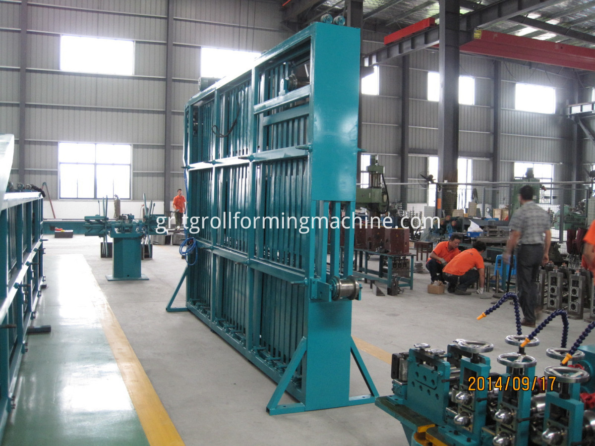 High-frequency Welding Carbon Steel Tube Mill Making Machine