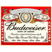 Vintage french wine label tin sign