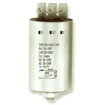 Ignitor for 35-150W Metal Halide Lamps, Sodium Lamps (ND-G150/110V)