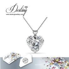 Destin bijoux cristal de Swarovski pendentif joyeux & collier