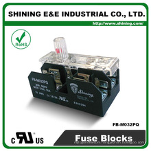 FB-M032PQ UL Approved Equal To Bussmann 30A 2 Pole Porcelain Fuse Holder